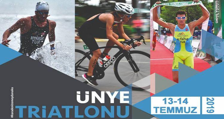 Ünye Triatlonu 13-14 Temmuzda